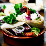Greek Stuffed Pittas